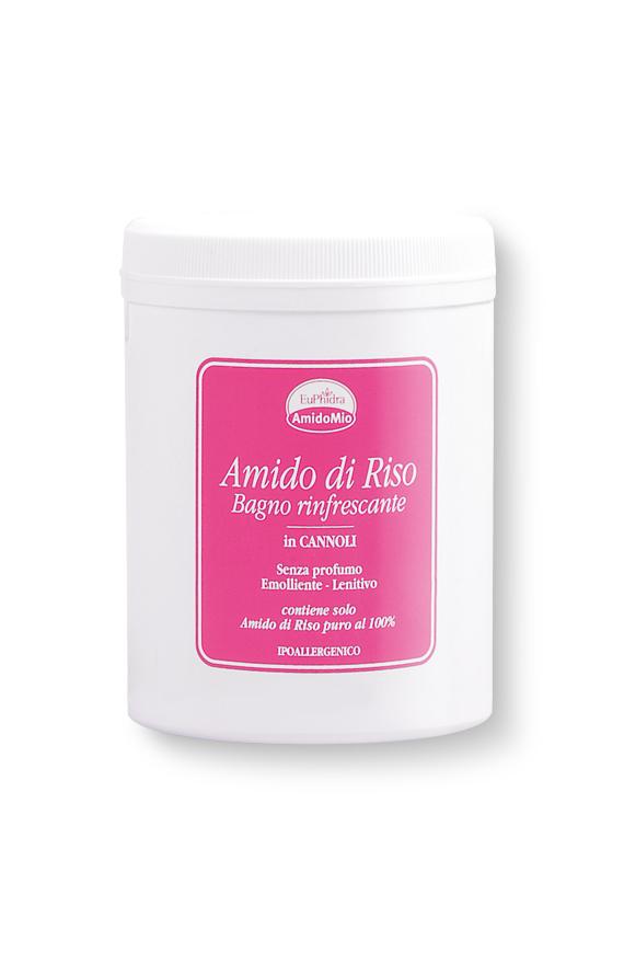 Euphidra amidomio amido di riso bagno rinfrescante farmacia s lucia - Amido per bagno ...