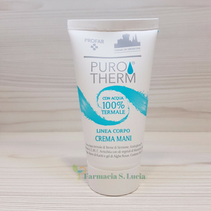 Purotherm Crema Mani acqua termale