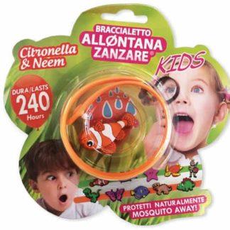 braccialetto anti zanzare bambini